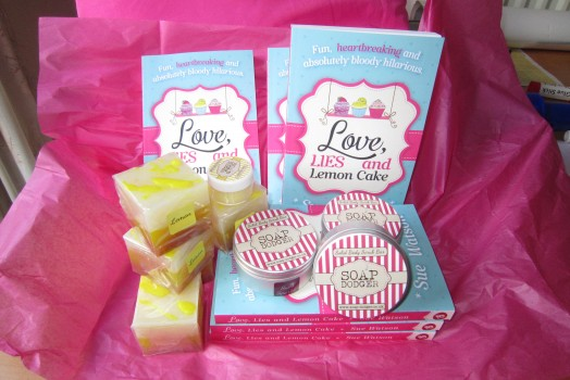 Giveaway! Love, Lies, Lemon Cake – and Lemon cake Soap!